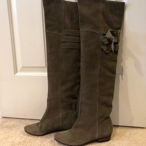 Tall Olive green boots